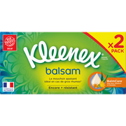 Kleenex Mouchoirs Balsam Kleenex, 2 Boîtes De 72 Unités