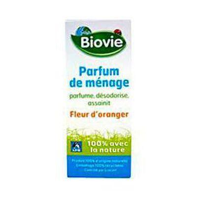 Parfum de ménage écologique senteur fleur d'oranger BIOVIE, flacon de 10ml