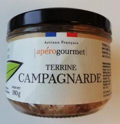 TERRINE CAMPAGNARDE 180GR