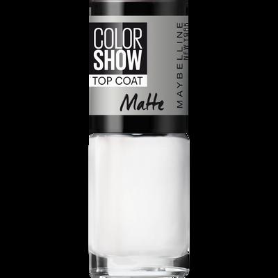 Vernis à ongles colorshow 81 matte about it MAYBELLINE, nu