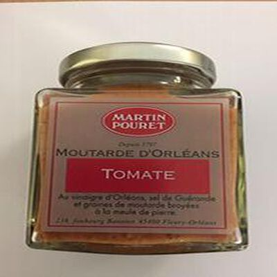MOUTARDE D'ORLEANS TOMATE