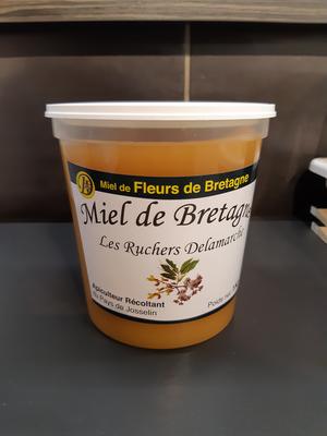 Miel de fleurs de Bretagne 1kg Delamarche GUEGON