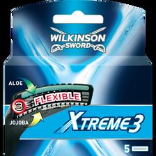 Lames pour rasoir système Xtreme 3 WILKINSON, x5