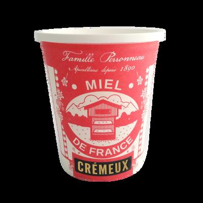 Miel de France cremeux FAMILLE PERRONNEAU, pot 500g