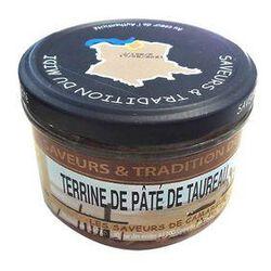 Terrine de Pâté de Taureau, Bocal de 190g, SAVEURS & TRADITION DU MIDI