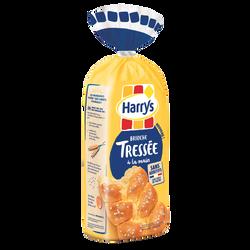 Brioche tressée au sucre perlé sans additif HARRYS, 500g