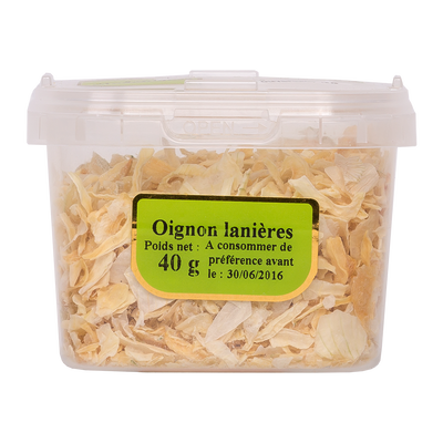 Oignons lanières, pot 40g