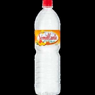 Eau de source à la pêche SEMILLANTE, bouteille 1.50l