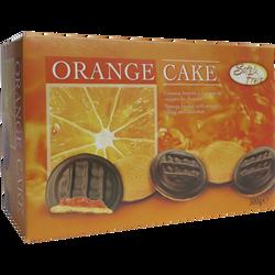 Génoises fourrées goût orange nappées de chocolat U, paquet de 300g