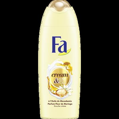 Gel douche cream oil macadamia/moringa FA, 250ml