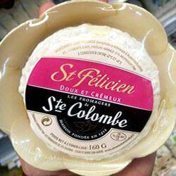 Saint Félicien, 21%MG, Les fromagers de St Colombe, 160G