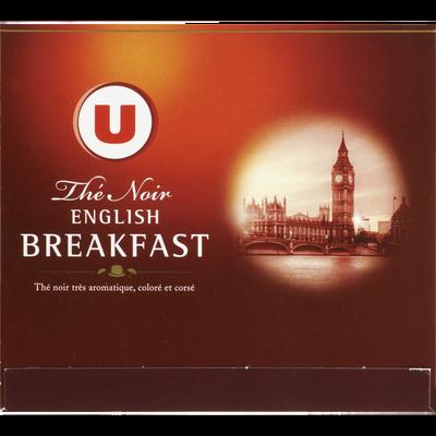 Thé English Breakfast U, boîte de 50 sachets, 100g