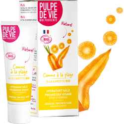 Crème autobronzante visage BIO COMME A LA PLAGE Pulpe de Vie, 30ml