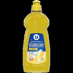 Liquide vaisselle parfum citron U flacon 750ml