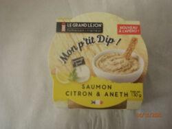 DIP SAUMON CITRON ANETH