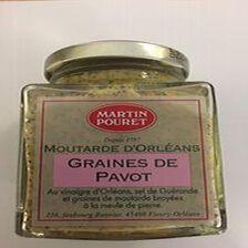 MOUTARDE D'ORLEANS GRAINES DE PAVOT