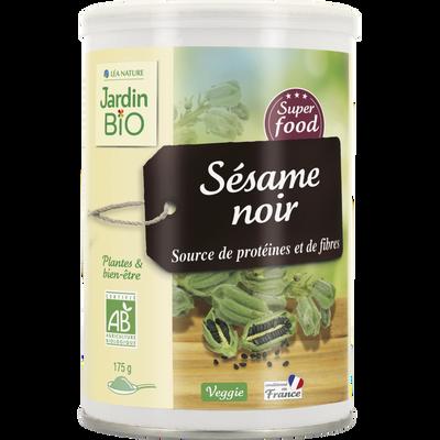 Super graines Sésame noir JARDIN BIO