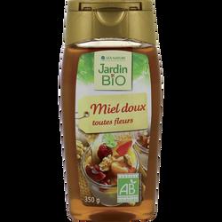 Miel de fleurs JARDIN BIO, flacon souple de 350g