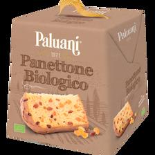 Panettone classique pur beurre BIO PALUANI, paquet de 750g