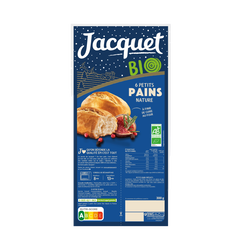 Petits pains nature bio JACQUET 300g