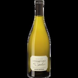 Vin blanc IGP Pays d'Oc Hauterive  Indomptable de Cigalus, bouteille de 75cl