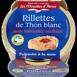 Rillettes thon blanc aux tomates séchée LES MOUETTE D'ARVOR, 125g