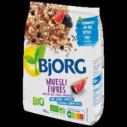 Muesli fibres son de blé bio BJORG, 375g
