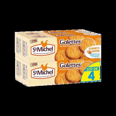 Galettes ST-MICHEL, paquet 4x130g