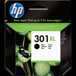 Cartouche d'encre HP pour imprimante, CH563EE noir n°301XL, sous blister