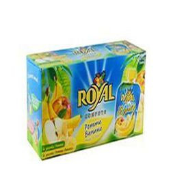 Compote pomme banane ,ROYAL , 12X90G
