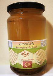Miel d'acacia des monts du Midi, Les Ruchers des barons d'Apcher, 500g