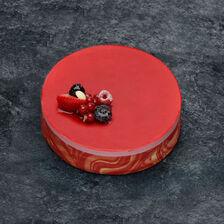 Bavarois aux fruits rouges décongelé, 6 parts, 810g