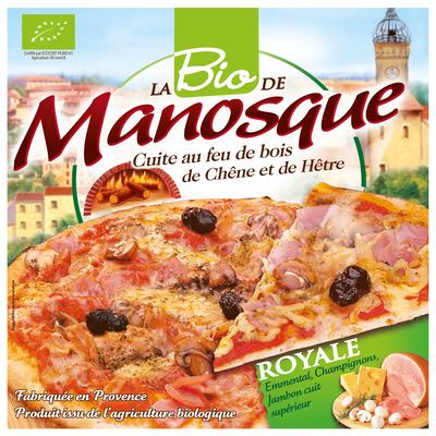 Pizza royale bio PIZZA DE MANOSQUE 380g