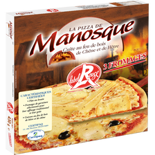 Pizza Label Rouge 3 Fromages LA PIZZA DE MANOSQUE, 430g