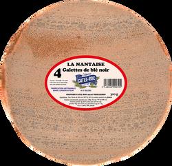 4 galettes 100% blé noir, La Nantaise, CATEL ROC, 300g
