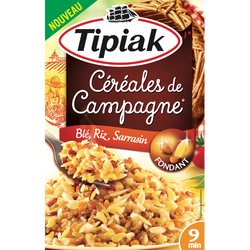 Céréales de campagne riz sarrasin)TIPIAK, 2x165g, 330g