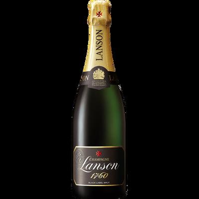Champagne brut LANSON, black label, 75cl