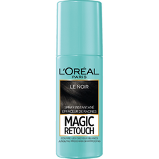 Spray instantané effaceur de racines noir n°1 MAGIC RETOUCH, flacon de75ml
