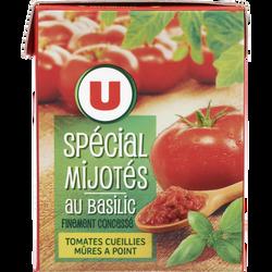Spécial mijotés au basilic U, paquet de 390g