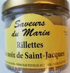 RILLETTES DE NOIX ST JACQUES. Les saveurs du marin