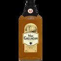 Scotch Blended  Whisky 3 Ans D'âge Mac Gallagan U , 40°, Bouteille De 1l