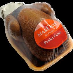 Poulet cuit fumé sous film surgelé MARQUIS DE FRANCE, 1,3kg