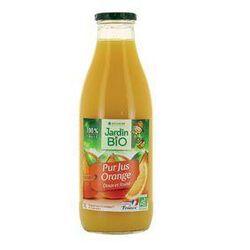 Pur jus d'orange Bio LEA NATURE bouteille 1L