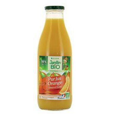 Pur jus d'orange Bio LEA NATURE bouteille 1L
