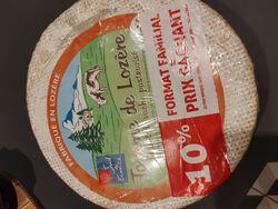 TOMME DE LOZERE 30 % mg /  - 10 % FORMAT FAMILLIAL