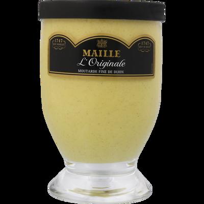 Moutarde de Dijon l'originale MAILLE, verre de table, 215g