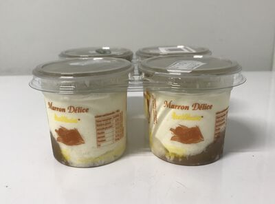 Fromage frais à la crème de marrons 4X100g areilladou