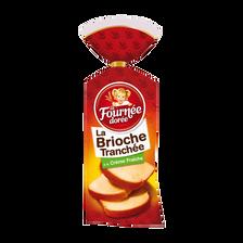 Brioche tranchée à la crème fraîche LA FOURNEE DOREE, 500g