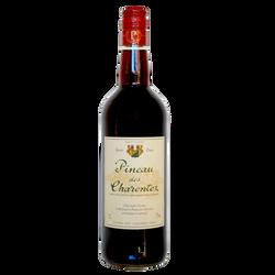 Pineau rouge Guérin Frères, bouteille de 75cl