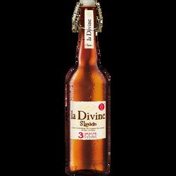 Bière blonde La DIVINE, 8,5°, 75cl